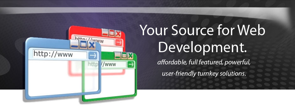 web development banner