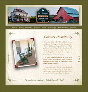 Goose Creek Bed And Breakfast